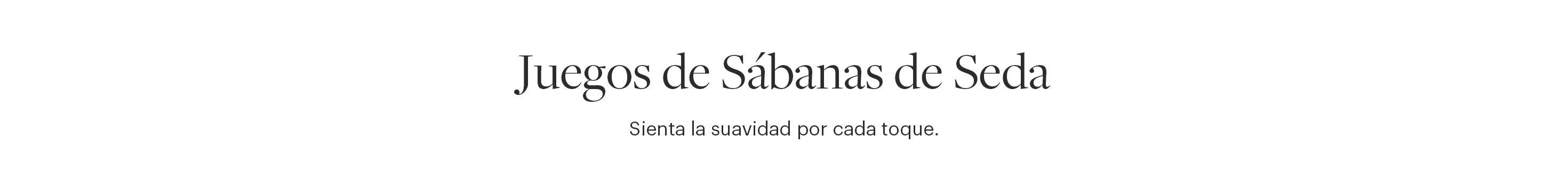 JUEGOS DE SÁBANAS DE SEDA