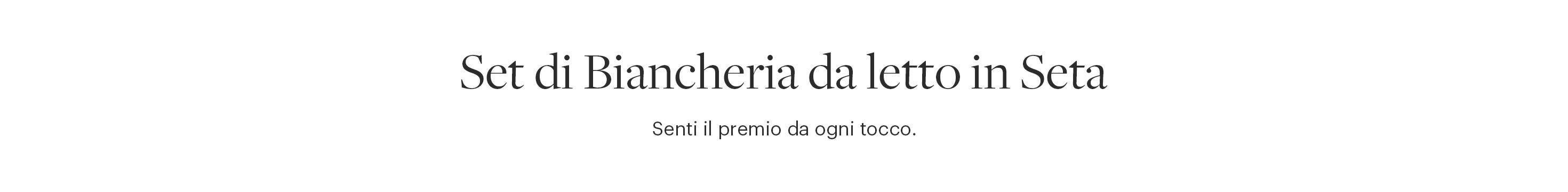 Completo Biancheria Letto