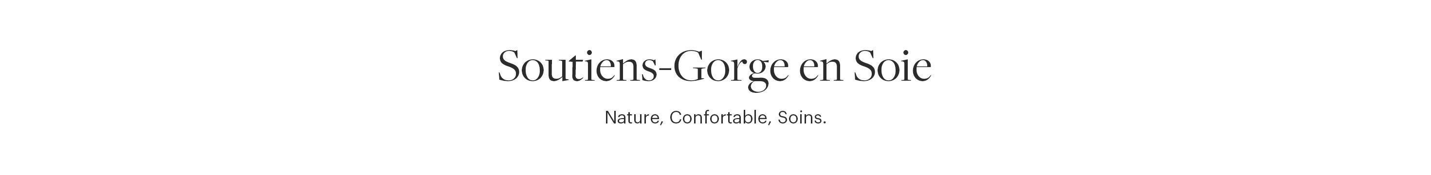 Soutien Gorge en Soie