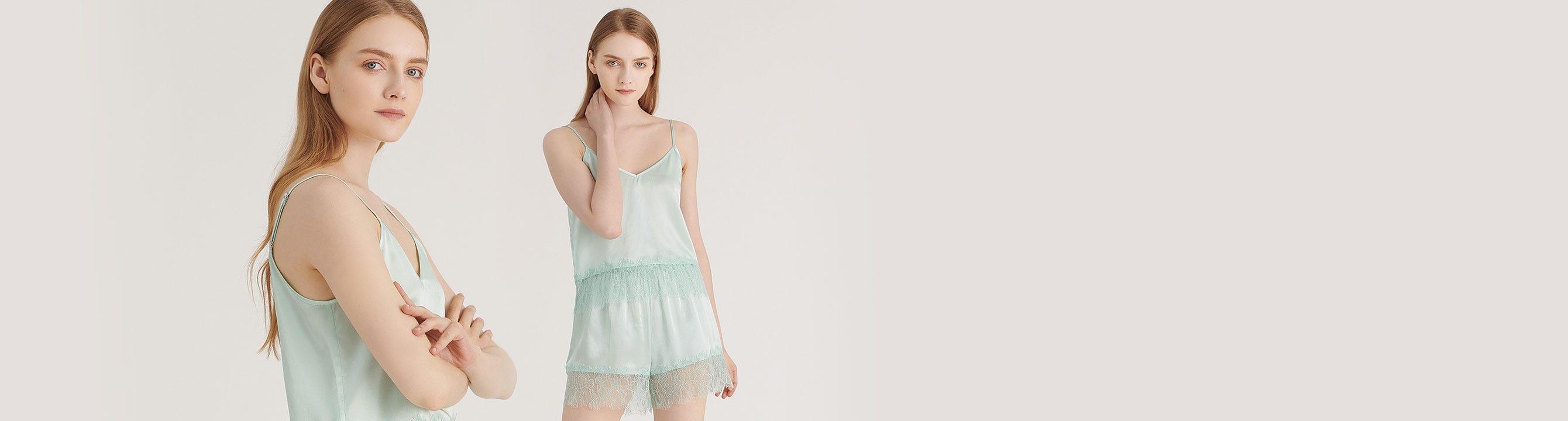 Silk Camisole Set For Women