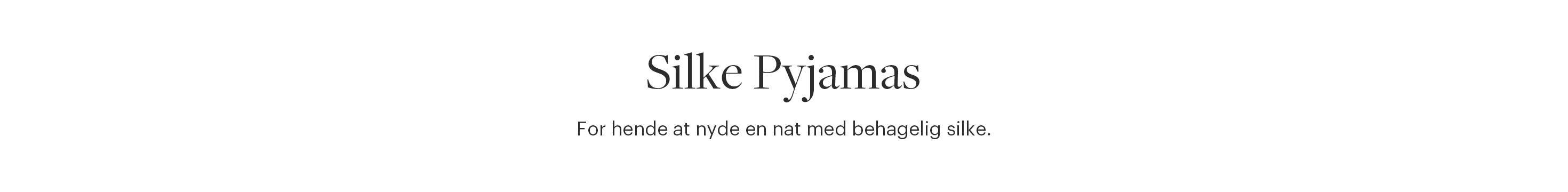Silke Pyjamas Dame