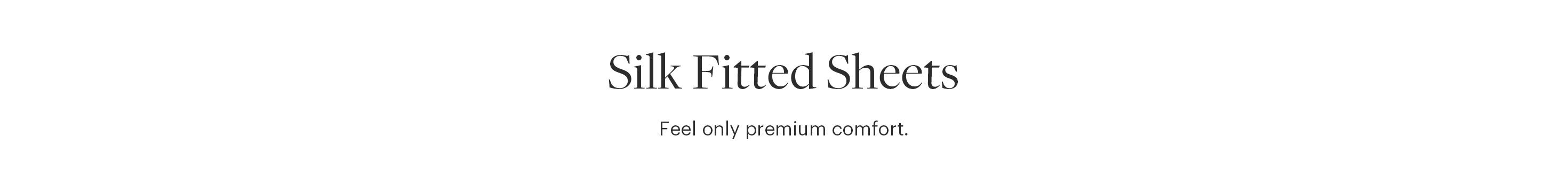 Silk Fitted Sheets