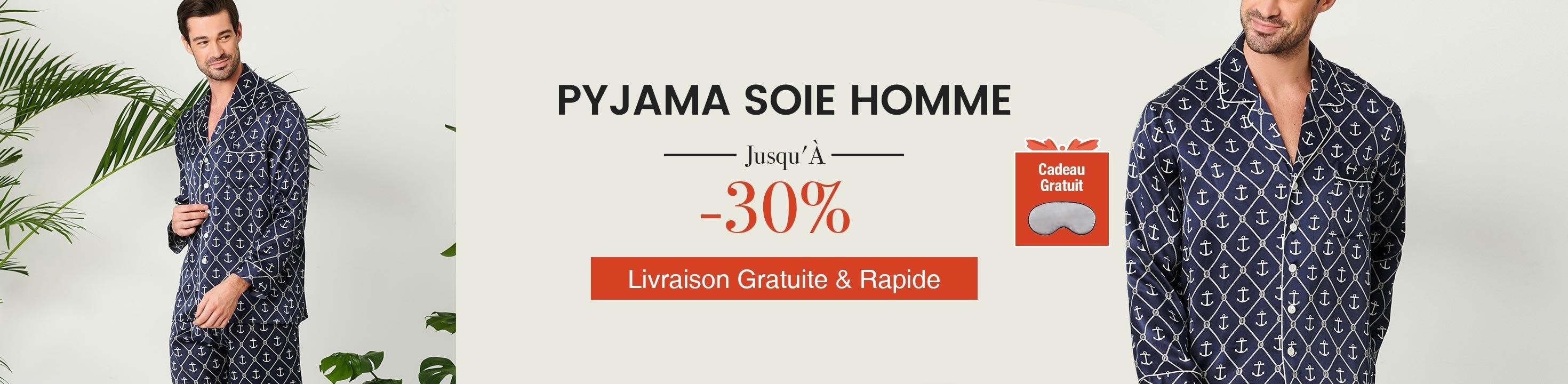 Pyjama en Soie Homme