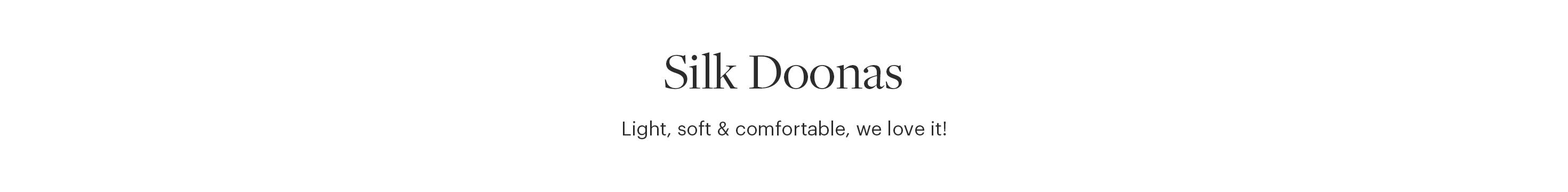 Silk Doonas
