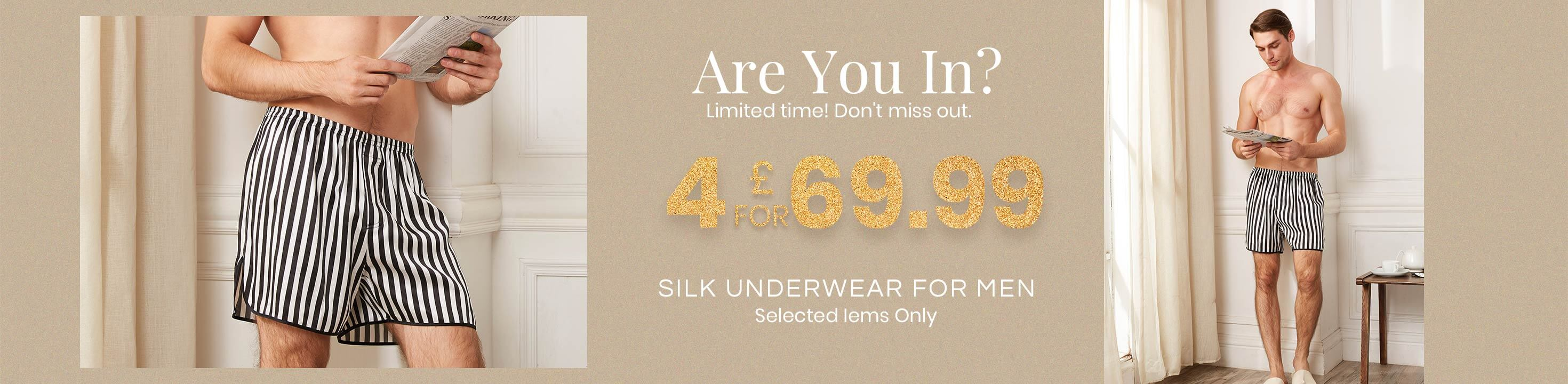 Silk Underwear for Men