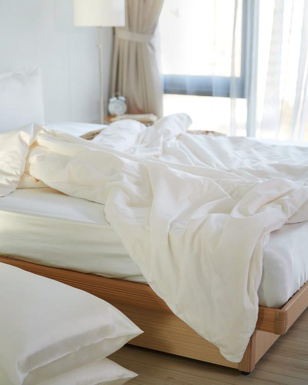 4 Jahreszeiten Seide Bettdecke Steppdecke mit Baumwolle Hülle
