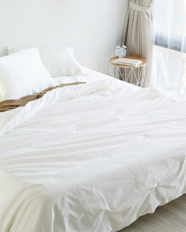 Sommerdecke Seide Bettdecke Steppdecke mit Baumwolle Hülle
