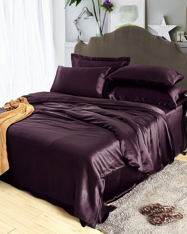25MM 4PC Silk Bedding Set