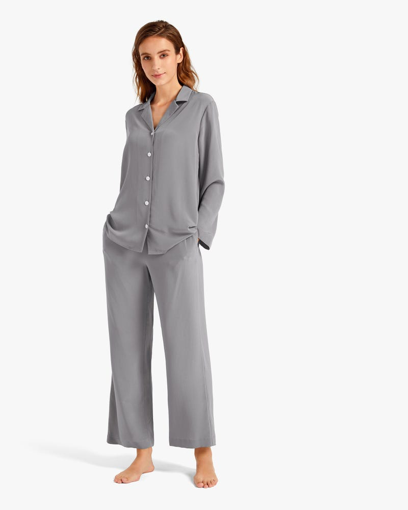 18 Momme Classic Silk Pajamas Set for Women