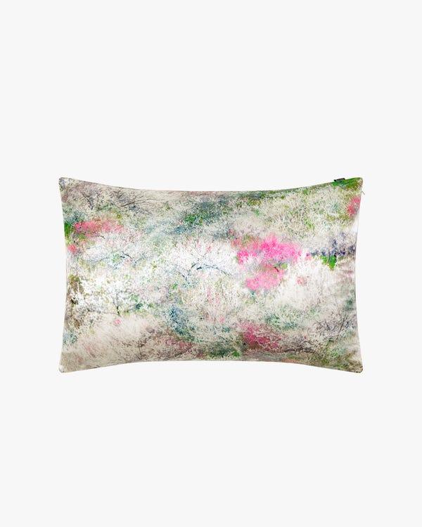 Riemchen Seide Hemdkleid mit Gürtel Fir-Green M