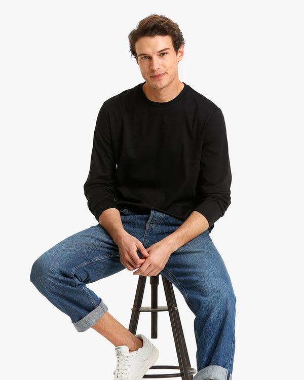 Basic Knitted T Shirt For Men