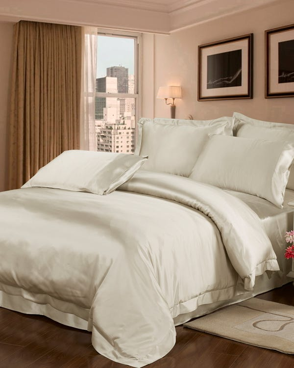22 Momme Seamless Silk Duvet Cover