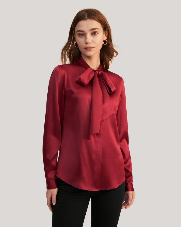 Silk Star Jacquard Pillowcase with Hidden Zipper