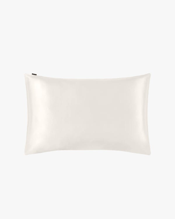 22 Momme Housewife Silk Pillowcase Ivory 30x40cm