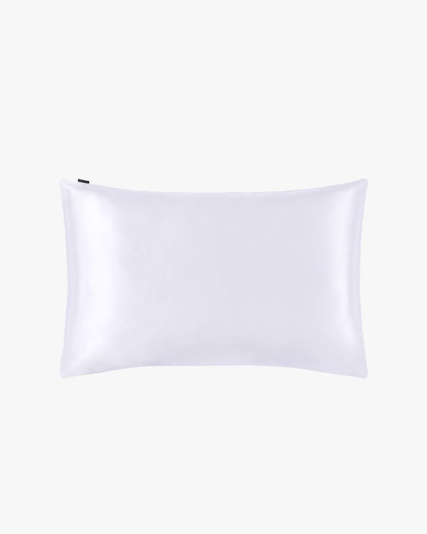 22 Momme Housewife Silk Pillowcase White King