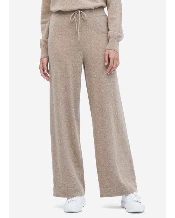 Casual Cashmere Knitting Trousers
