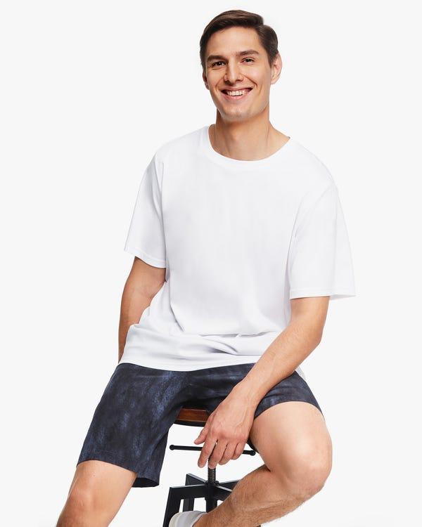 Eco-friendly Blend Knit Men T-shirt