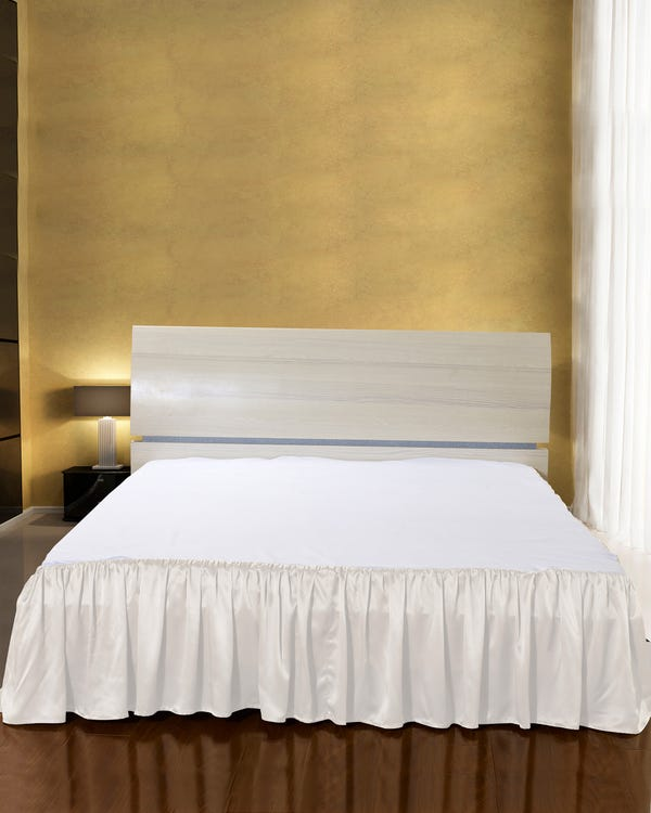 19 Momme Silk Bedskirt