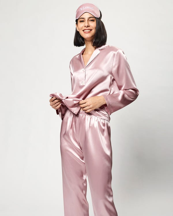 Clearance Solid Color Georgette Silk Tee S