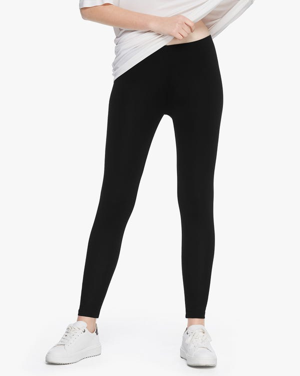 Comfortable Stretch Silk Leggings