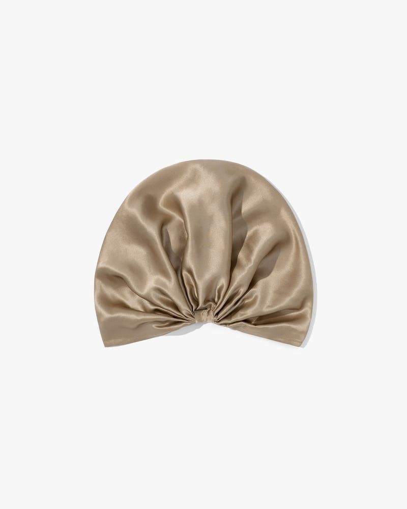 Classic Pleated Silk Sleep Cap
