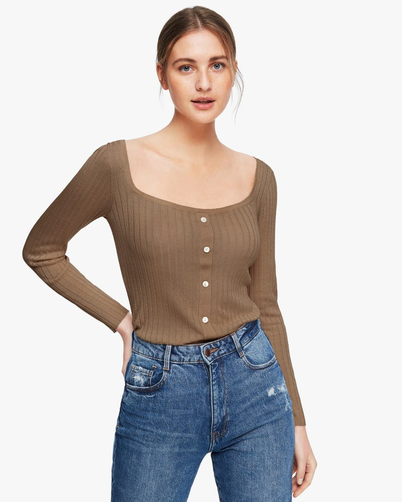 Pullover Silk Knit Women Sweater