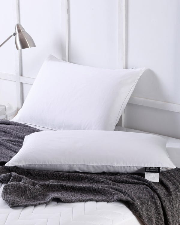 Cotton Covered Silk Pillow