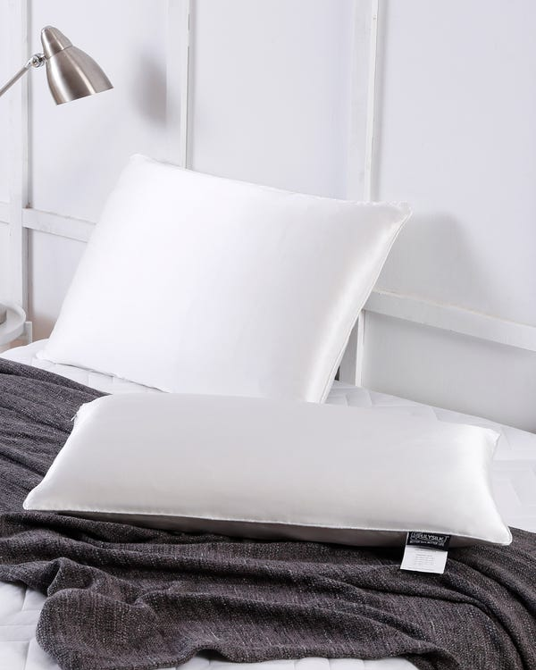 Silk Pillows With Silk Shell King