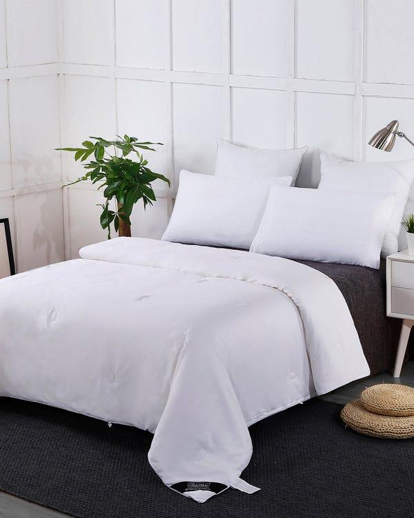 Sommerdecke Seide Bettdecke Steppdecke mit Baumwolle Hülle 200x200cm