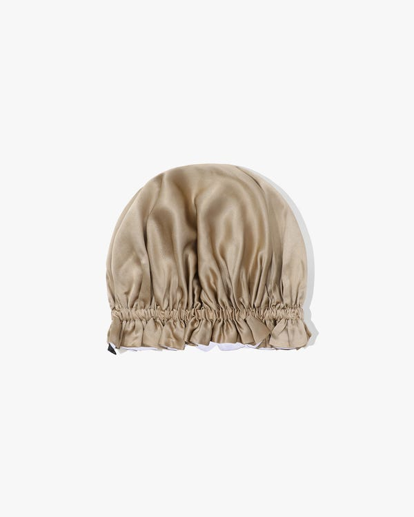 Gorro de dormir de seda de lujo de dos caras