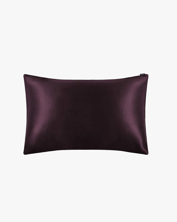 25 Momme Terse Luxury Pillowcase Purple King