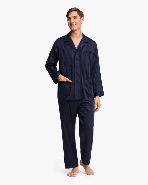 Pijamas Seda Estirable para Hombre