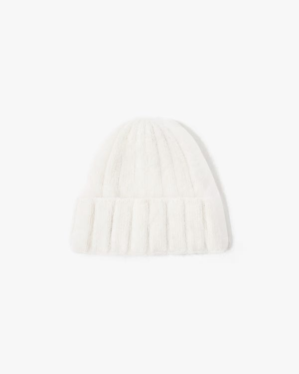 Rabbit Fur Warm Knitted Hat