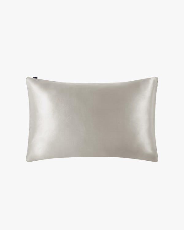 Seide Kissenbezug mit verstecktem Reißverschluss-hover