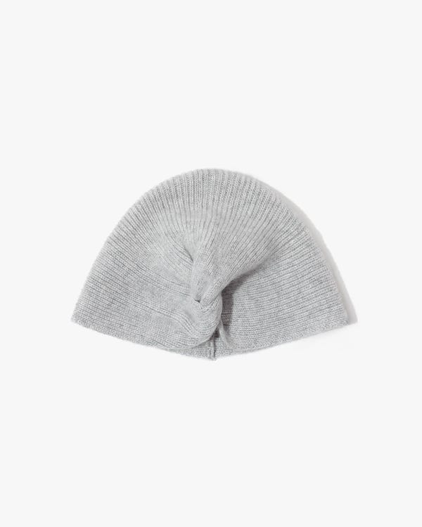 Elegant Exotic Knotted Cashmere Hat