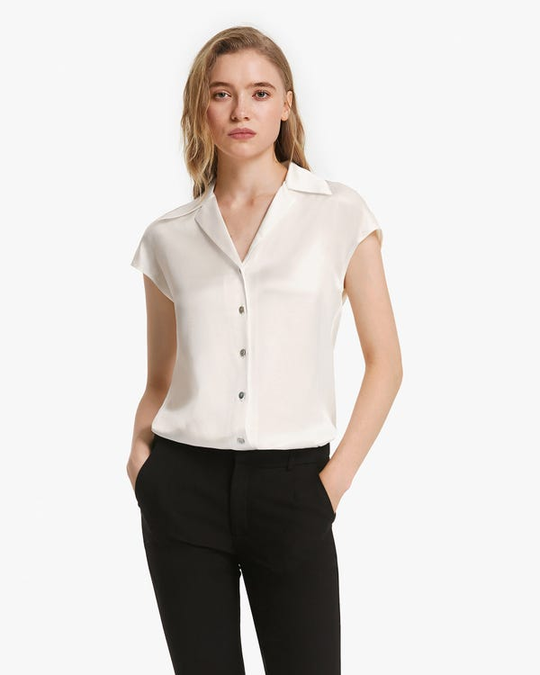 Pure Mulberry Silk Summer Blouse