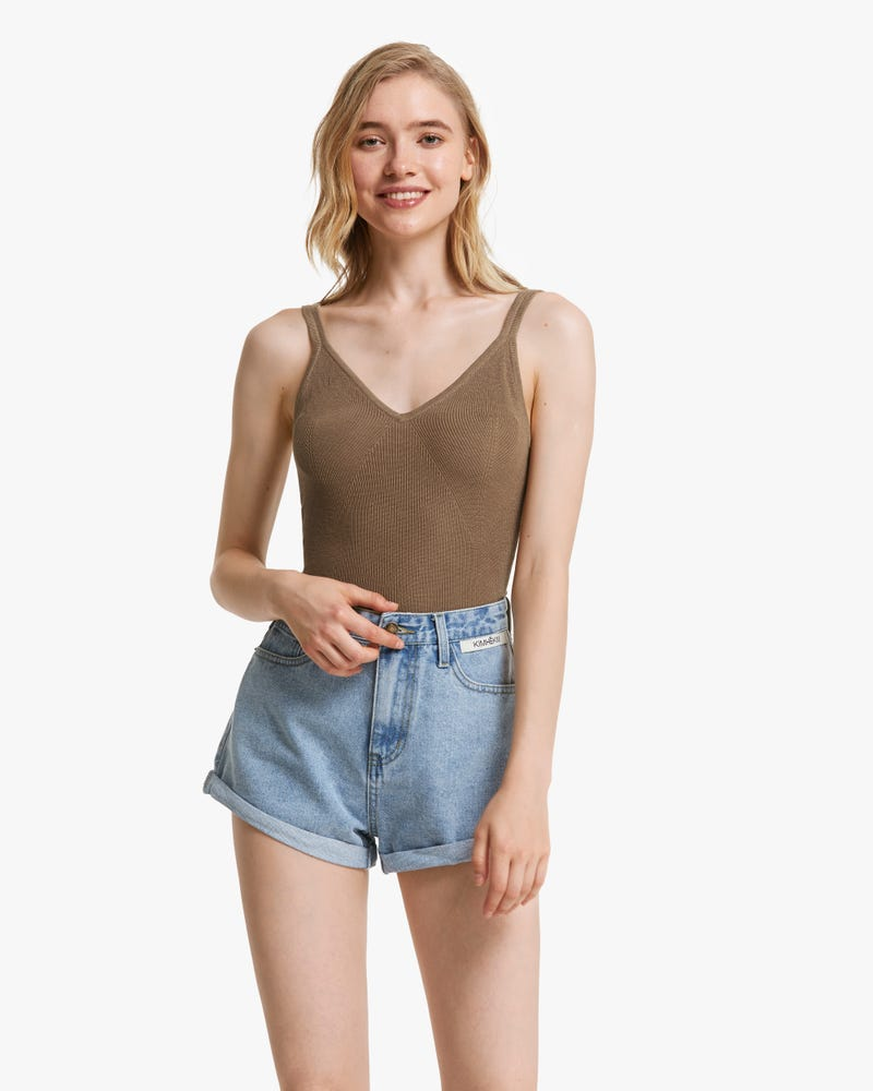 Everyday Knitted Silk Camisole Top