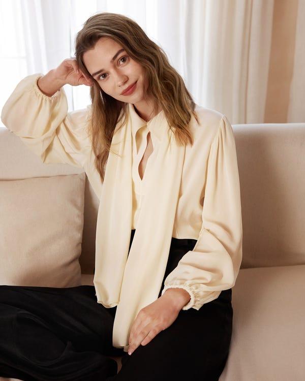 Cardigan classico in cashmere semplice Black M