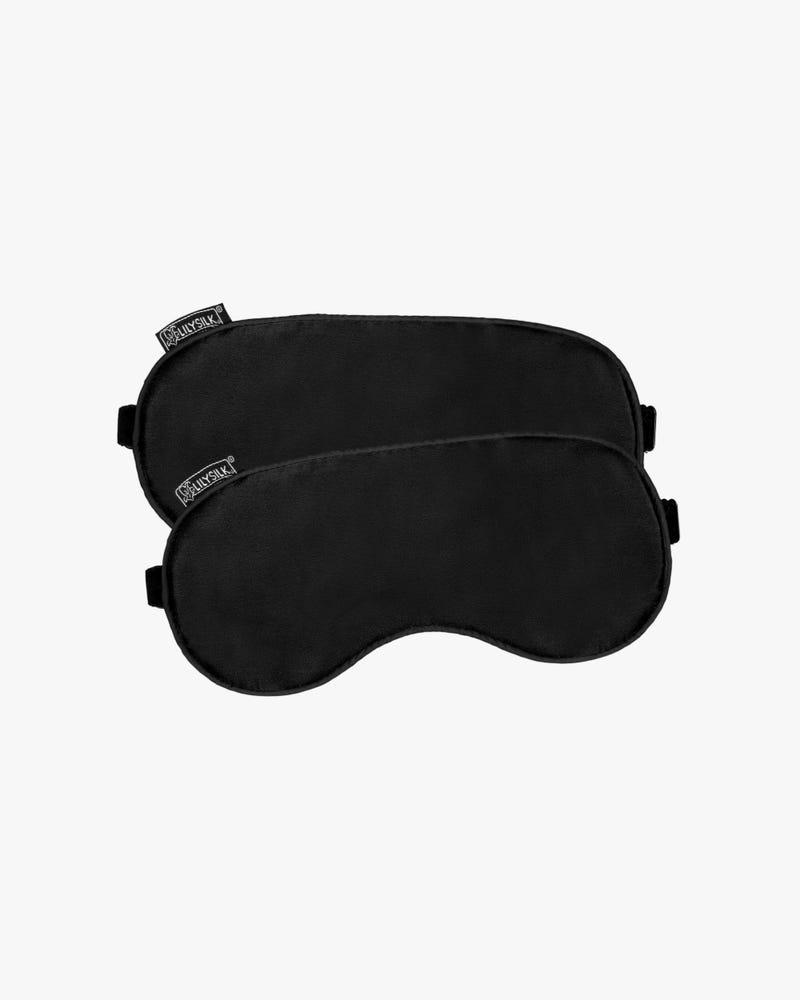 2 Pack Silk Sleep Eye Mask With Black Trimming