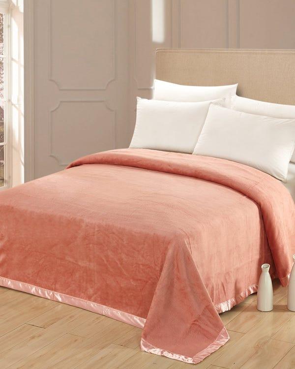 Silk Blanket Pink 180x210cm