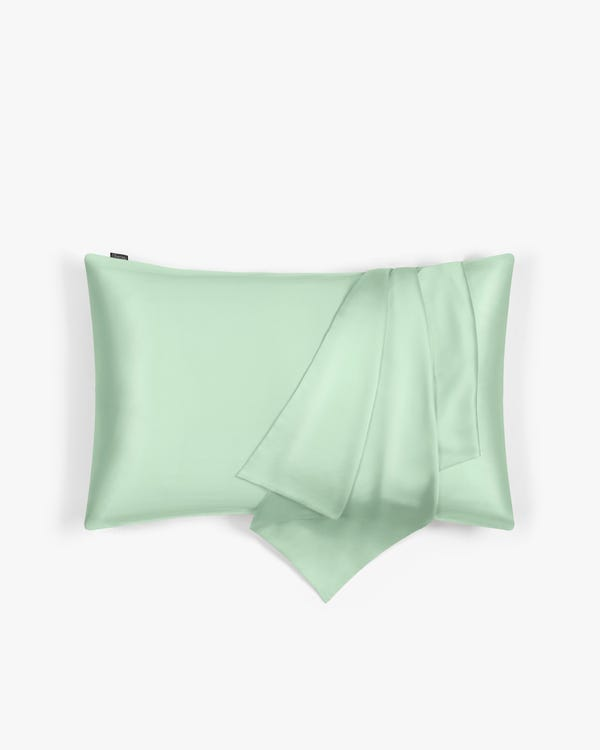 LILYHERB Silk Travel Pillowcase With Zipper-hover
