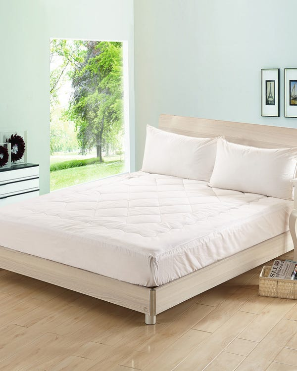 Silk Filled Mattress Topper-hover