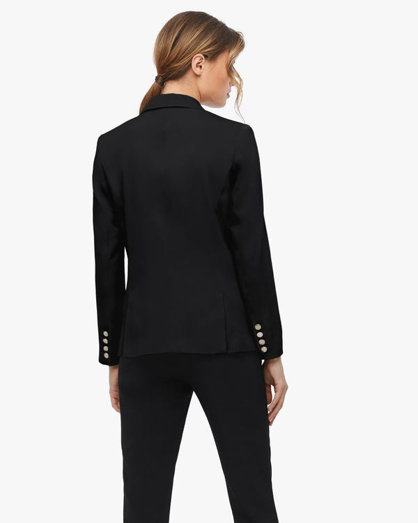 Vintage Silk Lined Blazer For Women