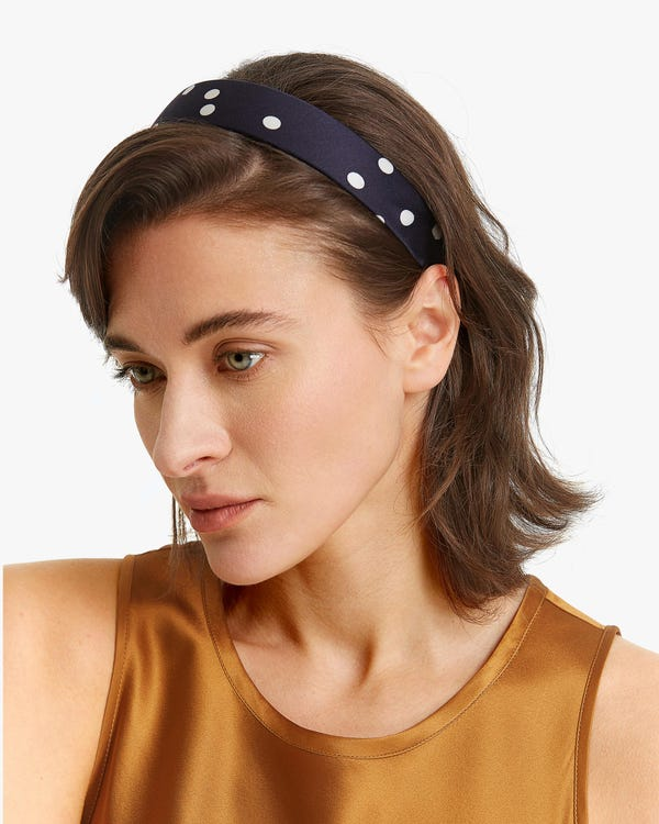 Comfortable Silk Covered Headband-hover