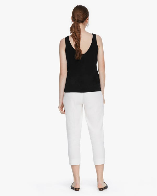 Blend-Knitted Silk Camisole Top-hover