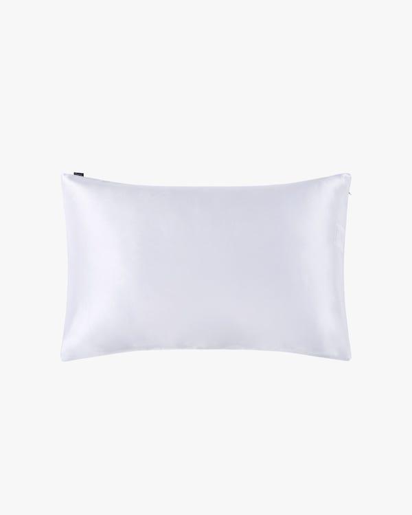Juego De Belleza De Seda Para Dormir Blanco-hover