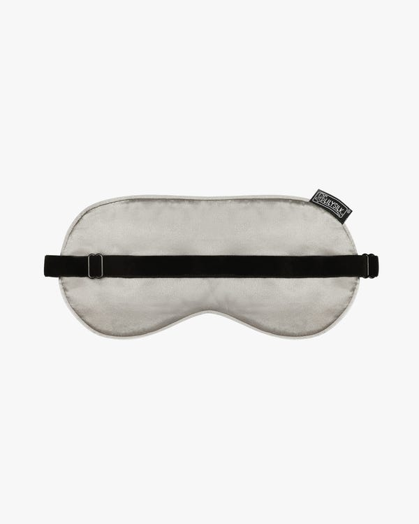 Silk Sleep Eye Mask With Wide Elastic Band-hover