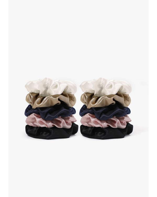 Soft Silk Large Scrunchie-hover