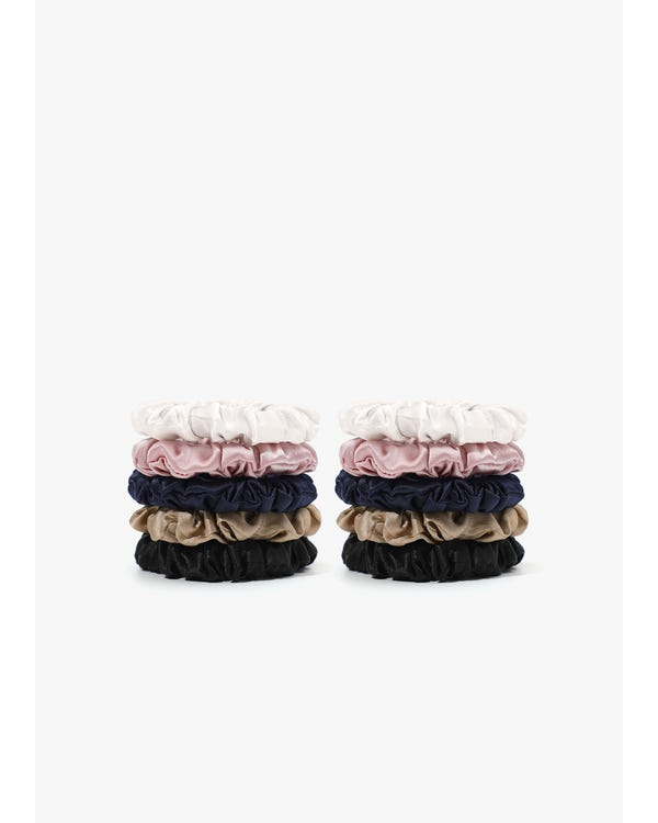 Soft Silk Small Scrunchie-hover