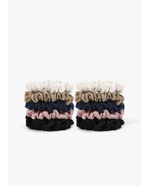Soft Silk Skinny Scrunchie